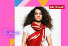 Kangana Ranaut Red White