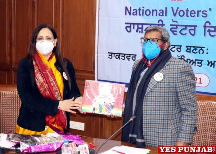 Karun Raju celebrates National Voters Day