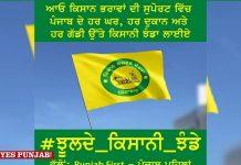 Kisan Sangarsh Ekta Flag