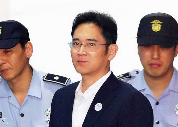 Lee Jae yong sentenced
