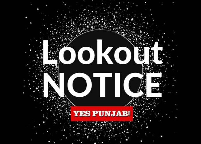 Lookout Notice