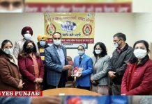 Namya Joshi receives Pradhan Mantri Rashtriya Bal Puruskar