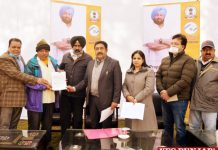 Pargat Singh hands over ownership papers