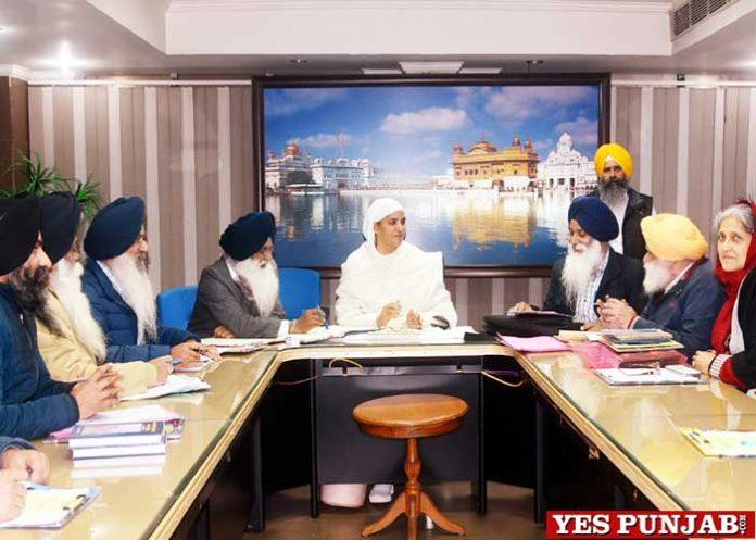 Parkash Prub meeting Bibi Jagir Kaur