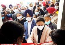 Preneet Kaur COVID vaccination drive Patiala