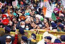 Punjab Congress March to Raj Bhawan against farm laws