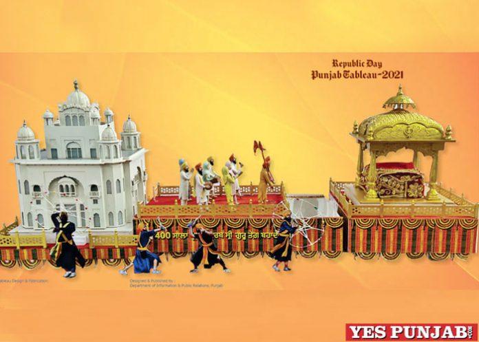 Punjab Tableau for Republic Day
