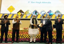 Ravee Ahluwalia Good Samaritan Award Road Safety