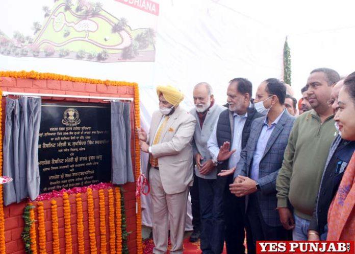 Sarkaria foundation stone Leisure Valley Ludhiana