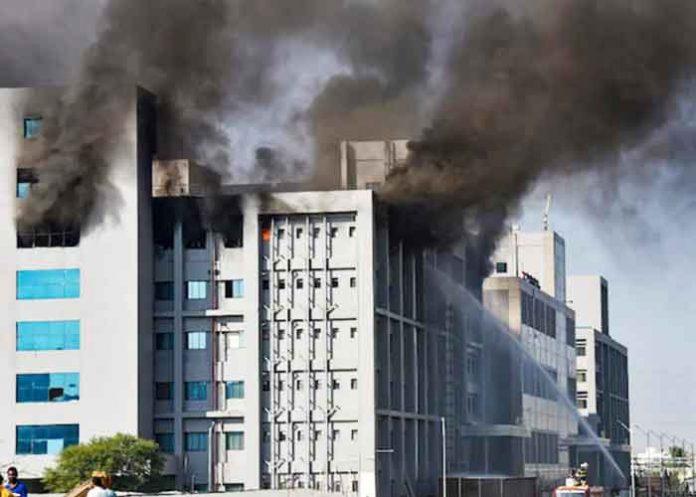 Serum Institute Building Fire
