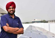 Simarpreet Singh Hartek Solar Chandigarh