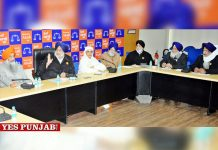 Sukhbir Badal Jagir Kaur Cheema meeting
