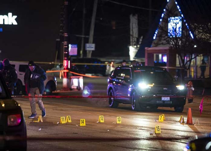 US Shooting Evanston