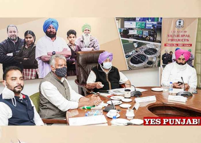 Amarinder launches projects under Smart City Amrut Schemes