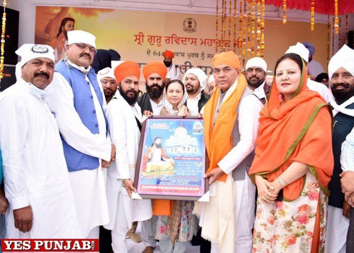 Arun Chaudhary celebrate Prakash Purb of Guru Ravidass Ji