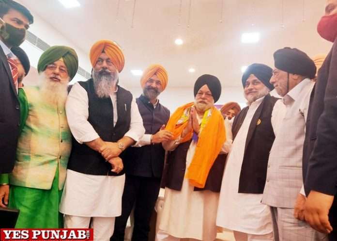 Bhajan Singh walia jaoin Akali Dal