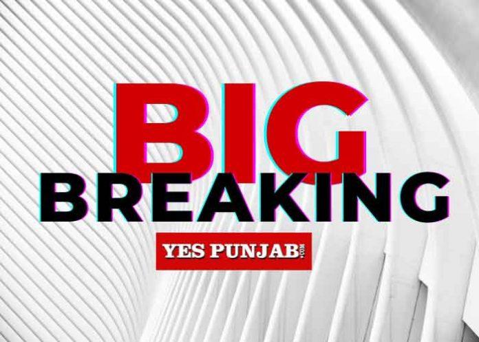 Big Breaking Yes Punjab