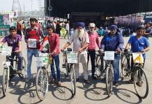 Farmers cycle rally from Kanyakumari to Kashmir
