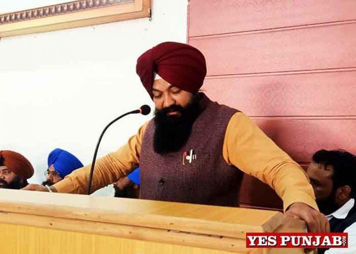 Jasvir Singh Garhi during BSP meeting Jalandhar