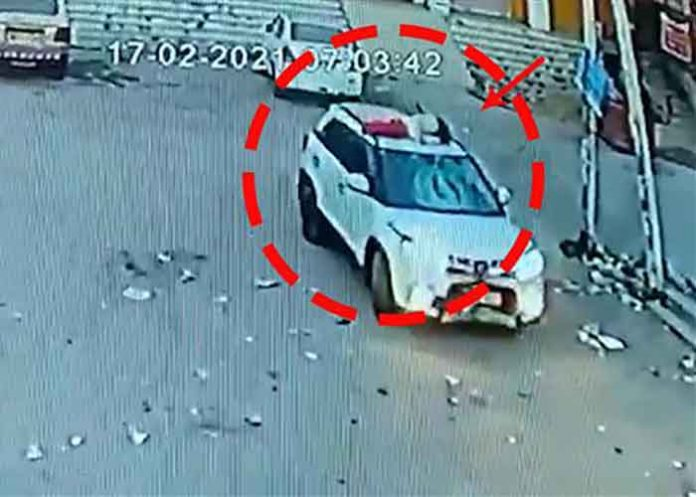 Mohali hit and Run Pic