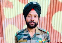 Parwinder Singh Martyr Naib Subedar