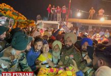 Parwinder Singh NaibSub cremated with Military Honours