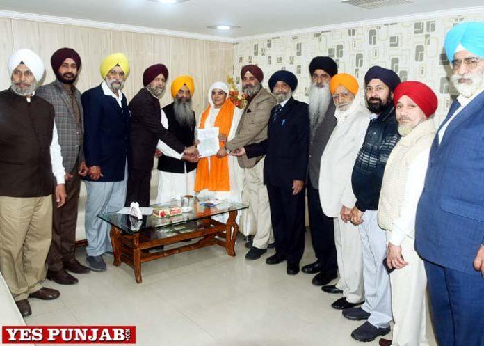 Ramgarhia Federation delegation meet Jagir Kaur