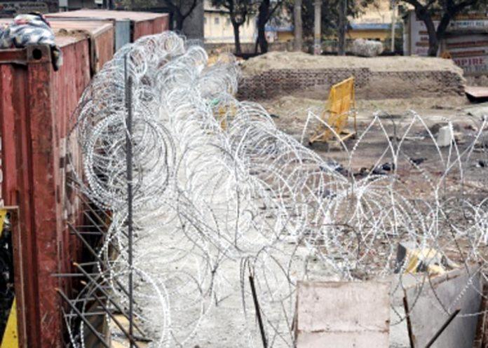 Security beefed at Singhu border