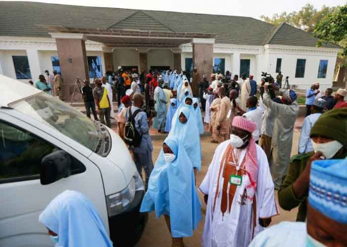 Abducted Nigerian schoolgirls freed
