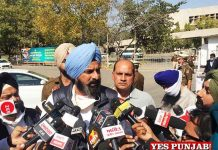 Bikram Majithia taking to Press