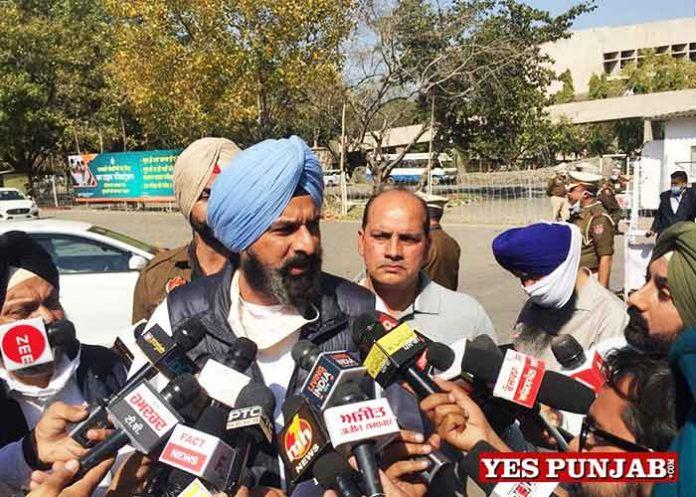 Bikram Majithia taking to Press