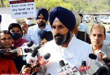 Bikram Majithia talk to repotrs