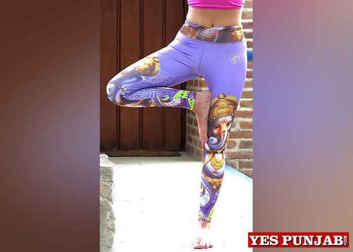 GaneshLeggings by Martha Acuna Sport Wear