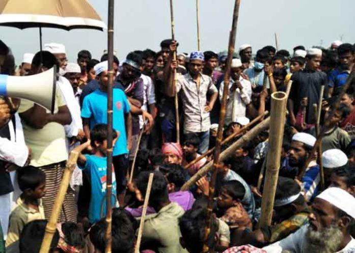 Hindu homes attacked in Sunamganj Bangladesh