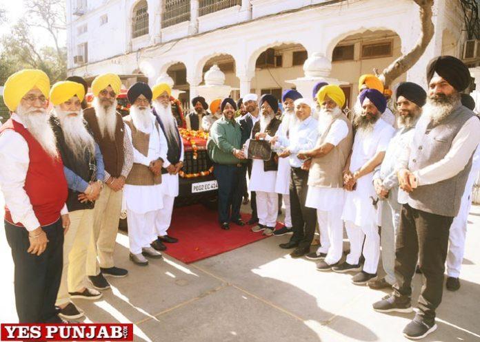 Mahindra donates Thar vehicle Sri Darbar Sahib