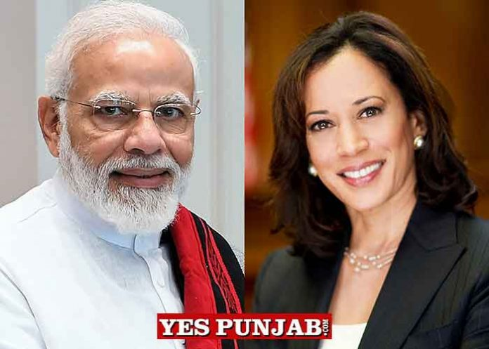 Narendra Modi Kamala Harris