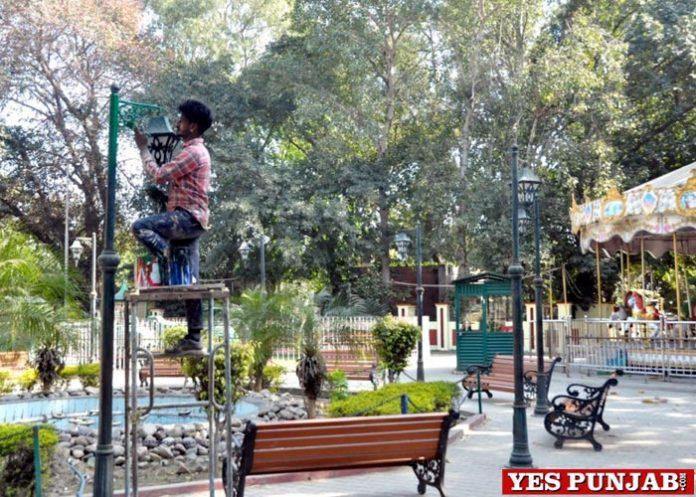 Nikku Park gets new look Jalandhar
