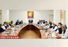 Punjab Cabinet Meeting 1March21