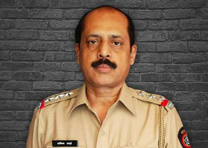 Sachin Vaze Mumbai Cop