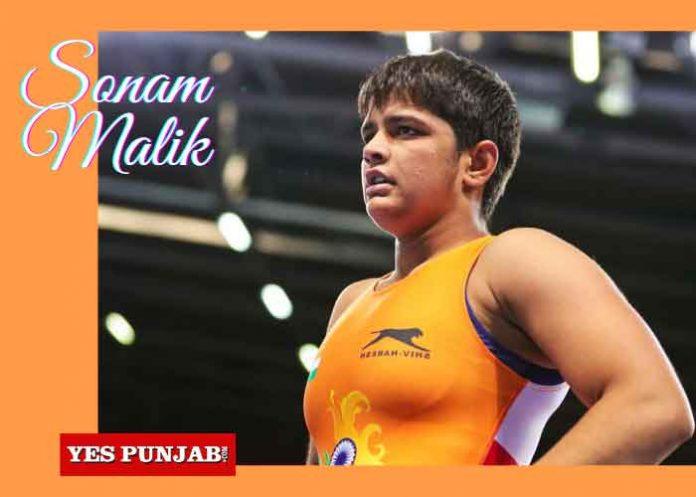 Sonam Malik Wrestler