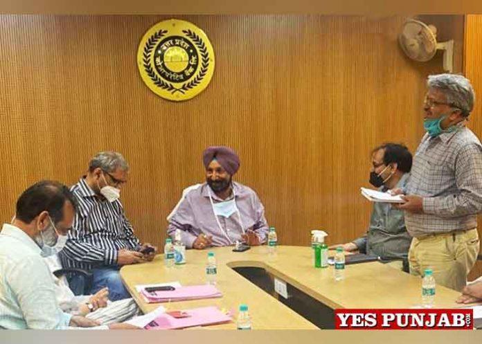 Sukhjinder Randhawa at Cooperative Bank UP