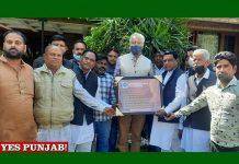 Sunil Jakhar meet Shakya Samaj people