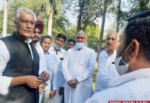 Sunil Jakhar visit Fazilka