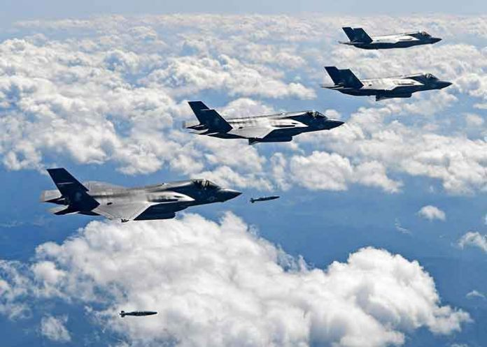 US Fighter Jets Bombing