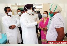 Balbir Sidhu surprise checking COVID Vaccination Centre