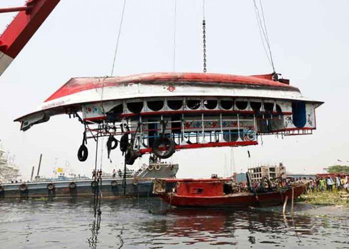 Bangladesh Shitalakkhya ferry capsize