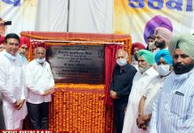 Brahm Mohindra lays foundation stone Modern Bus Terminal