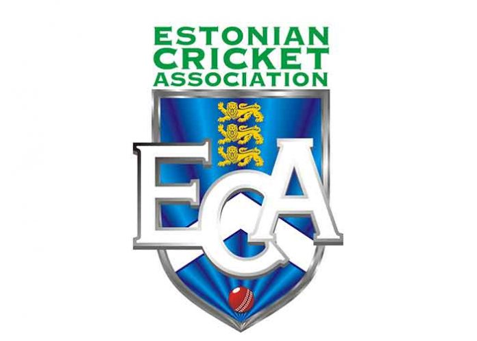 ECA Estonian Cricket Association Logo