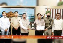 IKGPTU Dr Raman Huawai ICT Best Tutor Award
