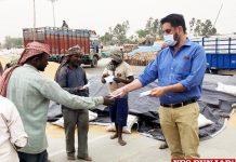 Mandi Board distributes face masks